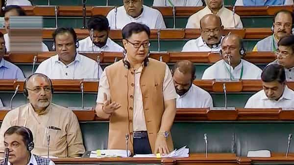Union Minister of State for Youth Affairs and Sports Kiren Rijiju  (Photo: PTI)