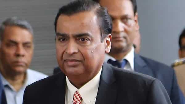 RIL Chairman Mukesh Ambani arrives for 42nd Annual General Meeting of Reliance Industries Limited in Mumbai (Photo: AP)