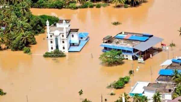 A flooded area of Malappuram district, Kerala. (AP)