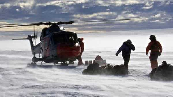 The author of the study says said it helped scientists gain more accurate projections about the direct and indirect contribution of Antarctica's ice shelves and glaciers to global sea level rise. Photo: AFP (AFP)