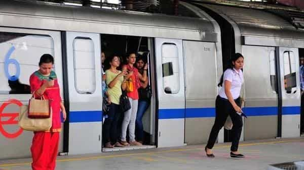 All Metro stations will remain open on Independence Day. (Priyanka Parashar/Mint)