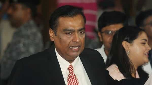 Mukesh Ambani, Chairman and Managing Director of Reliance Industries, attends the company's annual general meeting (AGM) in Mumbai, on August 12.
