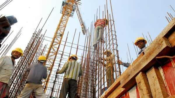 With several large conglomerates and infrastructure companies weighed down by debt, the onus of creating infrastructure is on the Centre. (Photo: Indranil Bhoumik/Mint)