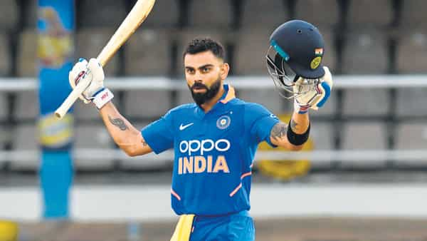 Virat Kohli Ton Blows Away Chris Gayle Force Windies
