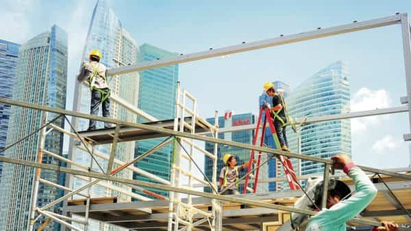 Singapore's construction industry relies heavily on a migrant workforce.  (Photo: iStock)