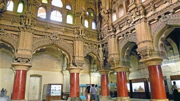 Interiors of the palace of the Thirumala Nayaka in Madurai.  (Photo: Alamy)