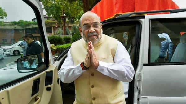 BJP national president and home minister Amit Shah (PTI)