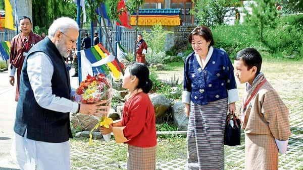 PM lists space, education as new areas of cooperation with Bhutan
