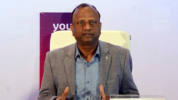 Chairman of State Bank of India Rajnish Kumar.  (ANI )