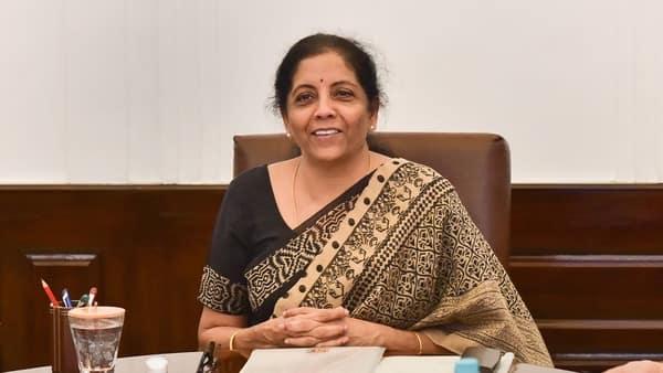 Finance minister Nirmala Sitharaman (PTI file)