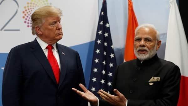 A file photo of US President Donald Trump and  Prime Minister Narendra Modi. (Reuters)