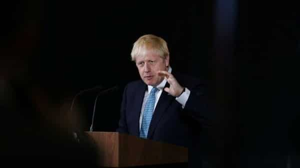 Britain's Prime Minister Boris Johnson.  (Reuters)