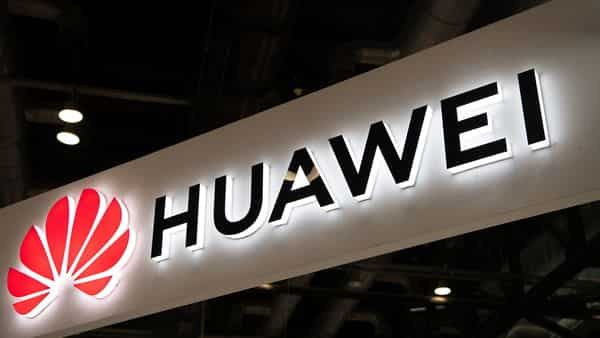 A Huawei logo is seen during the Consumer Electronics Expo in Beijing (Photo: AP)