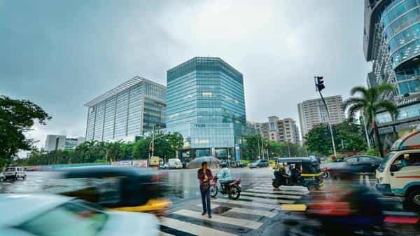 At a time when thousands of residential homes find no takers, commercial real estate is booming in places like Mumbai's BKC. Photo: Aniruddha Chowdhury/Mint