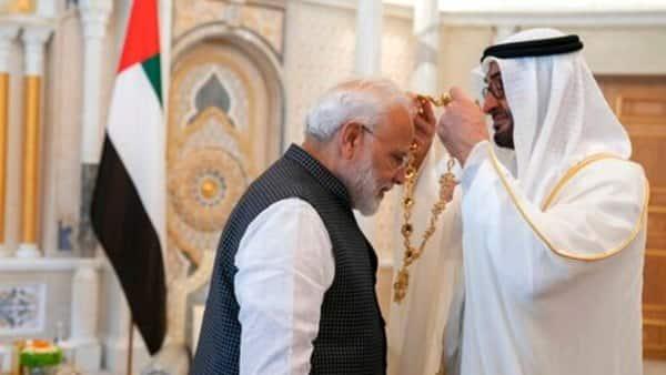 Pakistan's Senate chairman cancels UAE visit as PM Modi honoured by Gulf nation