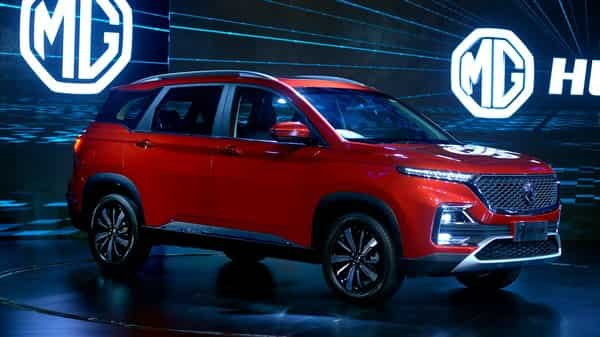 The MG Hector. Image for representational purposes only. Photo;  Abhijit Bhatlekar/Mint