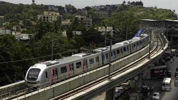 A file photo of Mumbai Metro. Representative image. Photo: Abhijit Bhatlekar/Mint