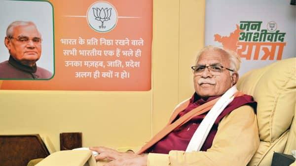 Haryana chief minister Manohar Lal Khattar (Photo: Ramesh Pathania/Mint)