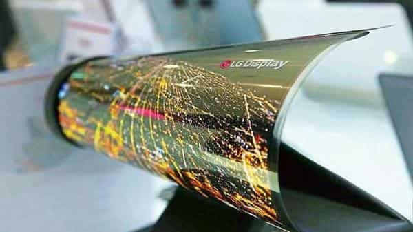 LG rollable OLED.