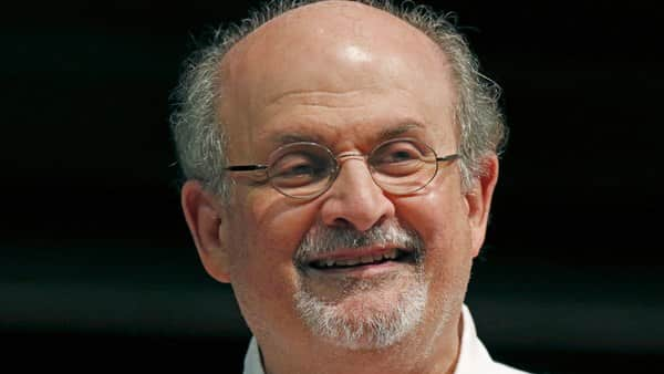 File photo of Salman Rushdie (Photo: AP) (AP)
