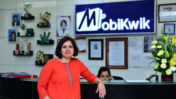 MobiKwik co-founder Upasana Taku said the digital payments firm became cashflow positive last month.  (Photo: Pradeep Gaur/Mint)