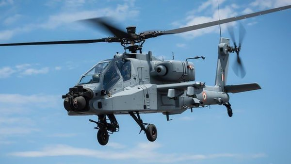 The first Apache squadron will have eight helicopters that have already been supplied by Boeing (@Boeing_In)
