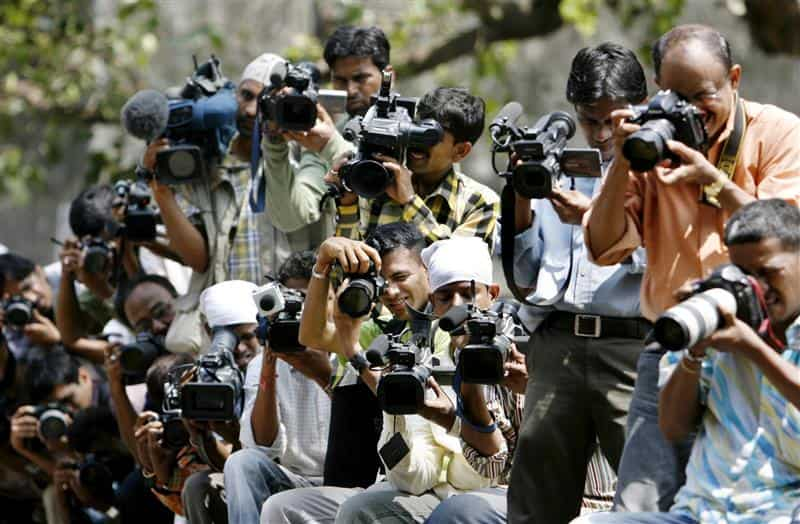 The EIU also flagged 'an escalation in abuses against journalists in recent years' in India, citing a decline in the country's ranking in Reporters Without Borders' Press Freedom Index where India now sits in the bottom quartile of countries. (Reuters)