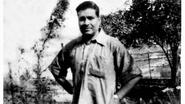 An undated portrait of Bibhutibhushan Bandyopadhyay from his family's collection.