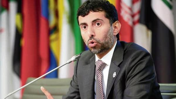 UAE energy minister Suheil al-Mazrouei. (Reuters)