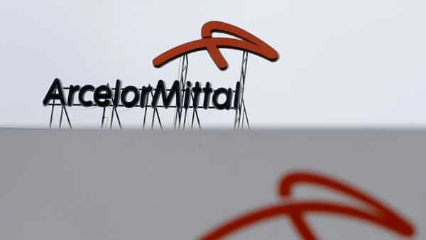 A logo is seen on the roof of the ArcelorMittal steelworks headquarters in Ostrava, Czech Republic.  (REUTERS)