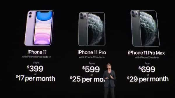 Apple Event Highlights Iphone 11 Iphone 11 Pro Iphone 11