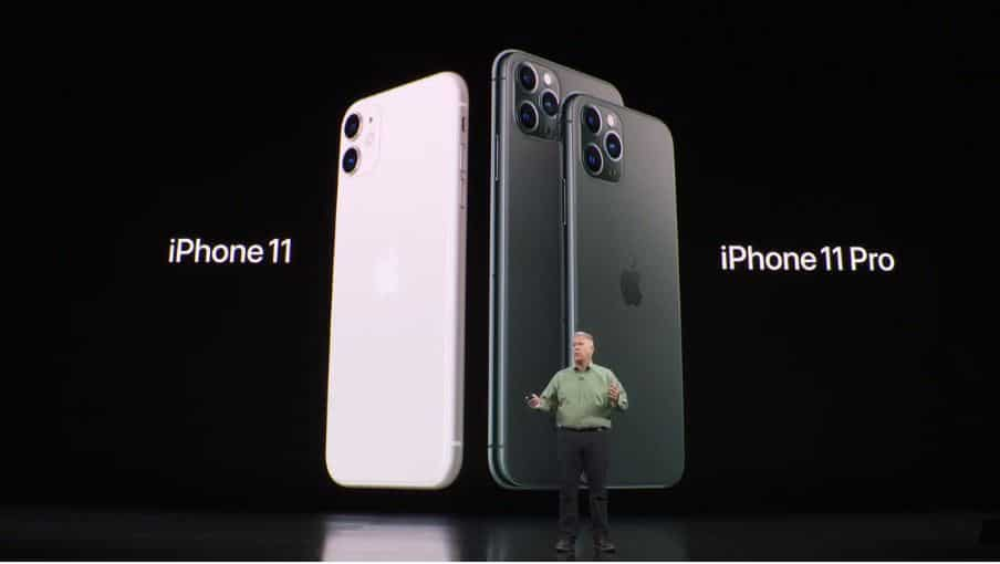Apple launched three new iPhones this year—the Apple iPhone 11 at  <span class='webrupee'>₹</span>64,990 (64GB), iPhone 11 Pro at  <span class='webrupee'>₹</span>99,900 (64GB) and iPhone 11 Pro Max at  <span class='webrupee'>₹</span>1,09,900 (64GB). (All prices are for the Indian subcontinent)