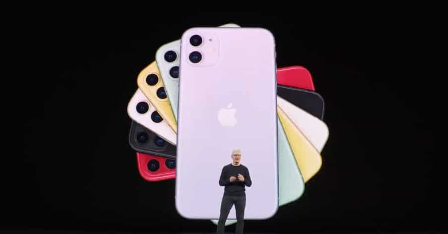 First look at iPhone 11