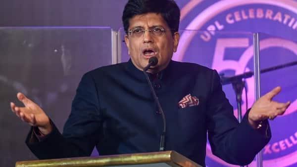 Union Commerce Minister Piyush Goyal. (PTI)