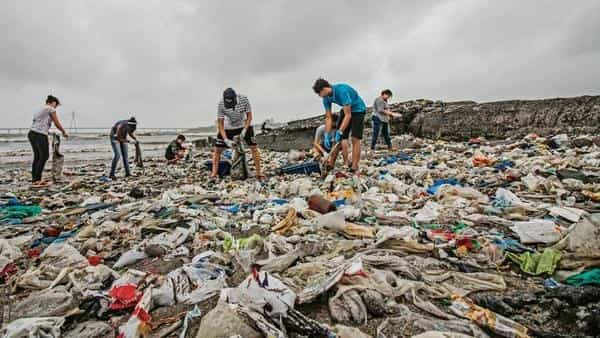 India's per capita consumption of plastic at 11 kg per year is still among the lowest in the world (the global average is 28 kg per year), yet it generates a staggering 26,000 tonnes of plastic waste every day (Photo: Hindustan Times)