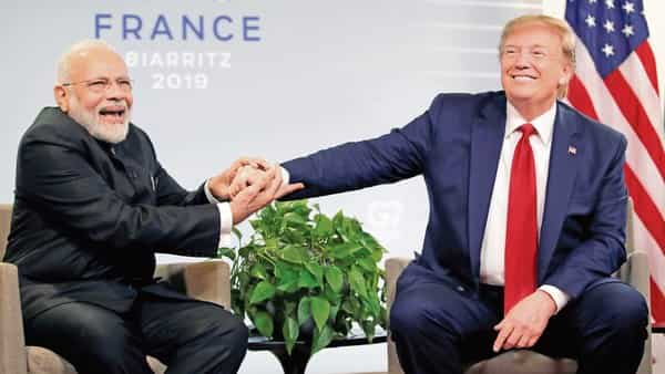 Prime Minister Narendra Modi and US President Donald Trump will meet for the third time this year at the Houston event to be held next week (Reuters file)