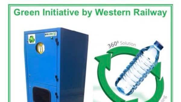 Mumbai Rajdhani train: Railways install first plastic bottle crushing machine