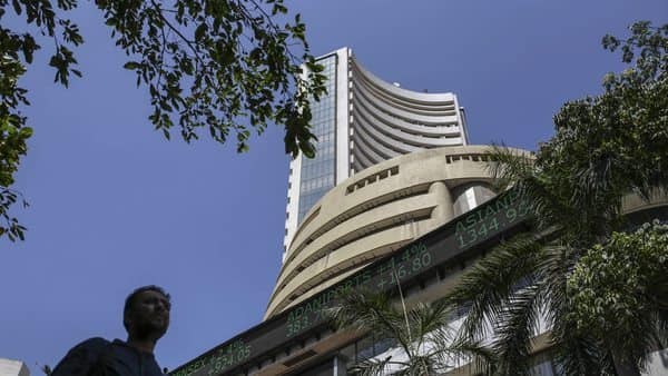 The Sensex zoomed nearly 2,100 points, or about 6%, intra-day (Bloomberg file)