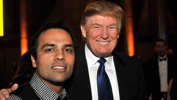 US President Donald Trump had handed over Leadership Award to entrepreneur Gurbaksh Chahal. (Digpu)