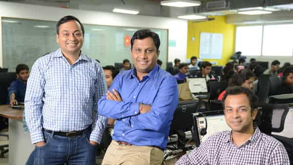 (Left to right): Amit Kumar Agarwal, CEO and co-founder of NoBroker.com Akhil Gupta, CTO and co-founder of NoBroker.com Saurabh Garg, Chief Business Officer (CBO) and co-founder of NoBroker.com