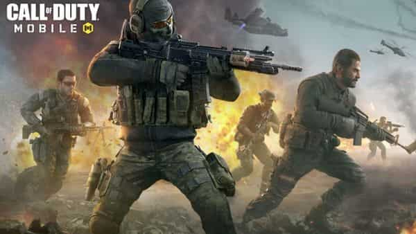 The load screen graphic of Call of Duty: Mobile