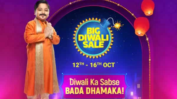Flipkart Big Diwali Sale will be from 12th to 16th October