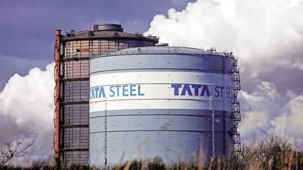 Tata Steel stock was up more than 3% in early deals today (Bloomberg)