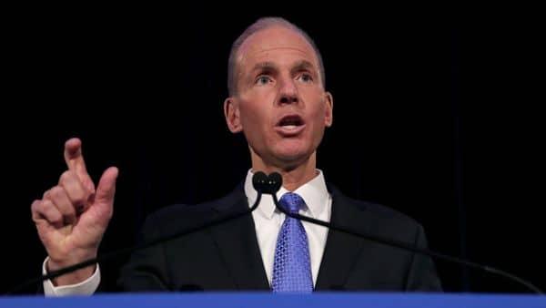 Boeing Chief Executive Dennis Muilenburg. (AP)