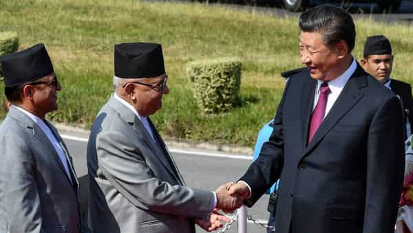 Nepal signs rail, road link deals with China during Xi visit