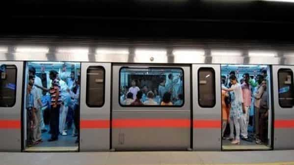 Delhi Metro's Blue Line service goes out of gear as passenger strays onto track