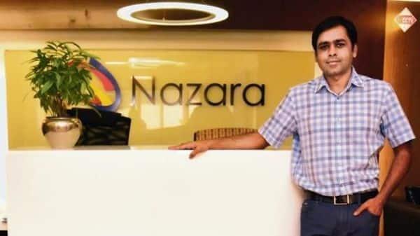 Nitish Mittersain, founder and MD of Nazara Technologies.