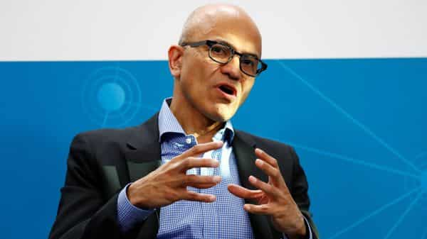 Microsoft CEO Satya Nadella got 66% salary hike. Here is how much he made last year - Livemint thumbnail