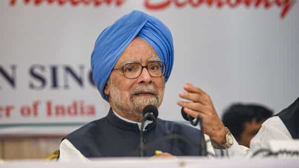 To reach $5 trillion mark, economy must grow at 10-12%: Manmohan Singh