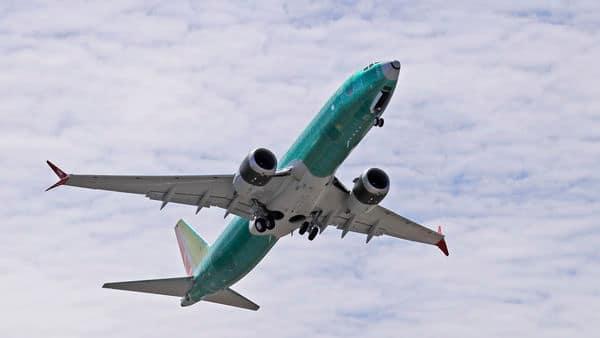 Boeing 737 MAX 8 jetliner.  (AP)